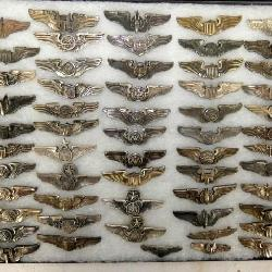 3IN STERLING WW2 MILITARY WINGS