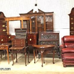 Massive  30+ estate auction South Jersey Auction by Babington Auctions Antique Vintage New Brand Name Stickley Ethan Allen