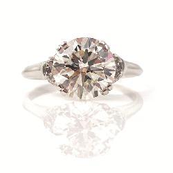2.85 Carat Round Diamond