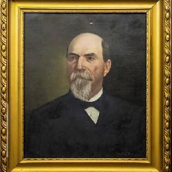 Important Civil War Portrait of Dr. Horace W. King, by Helene DeLaunay, 1886