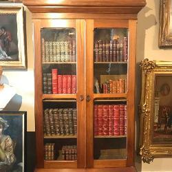 Historic Nashville Devon Farms Masonic Display Cabinet
