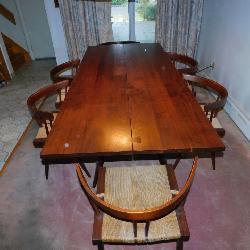 George Nakashima Dining Room
