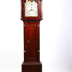 LOT 76. SIMON WILLARD WARRANTED TALL CLOCK for CAPT BROWN