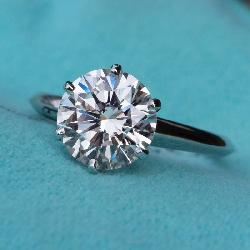 Solitaire 5.82ct Diamond Ring