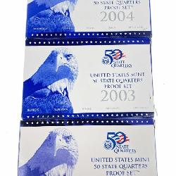 US Mint Silver Proof Coin Set