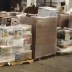 25 Pallets of Home Depot Goods to be un-packed !