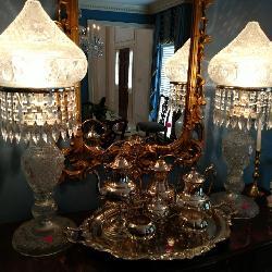 Cut Crystal Lamps