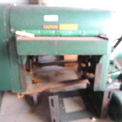 Power matic Houdaille Planer model# 160