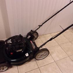 Working Bolens MTD Push Mower - current bid $55