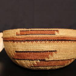 Antique Native American California Basket