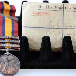 Irish medal from the Boar war