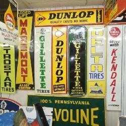 COLLECTION EARLY EMB. VERTICAL SIGNS