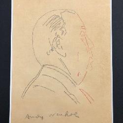 Andy Warhol, Original Drawing