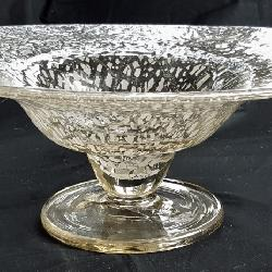 Chris Lebeau Unica Bowl, White Crackle
