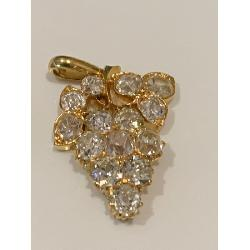 22k Gold Mogul Pendant