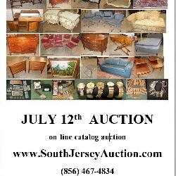 www.SouthJerseyAuction.com  (856) 467-4834 July 12th Sunday Funday NEW JERSEY