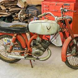 60's Itailian Harley Davidson 65cc