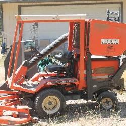 Kubota industrial mower