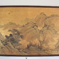 Original Oriental painting