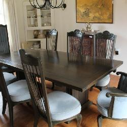 Raymond Enkeboll spanish gothic style dining table