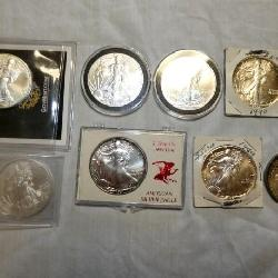 STANDING LIBERTY SILVER DOLLARS