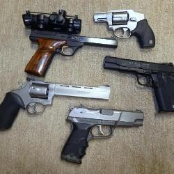 COLLECTION PISTOLS